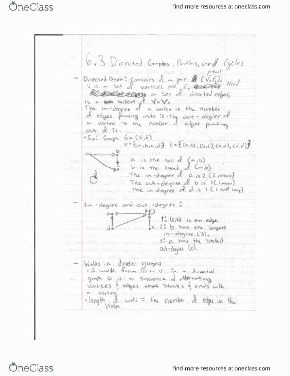 Textbook Notes For Ic Sci 6b At University Of California