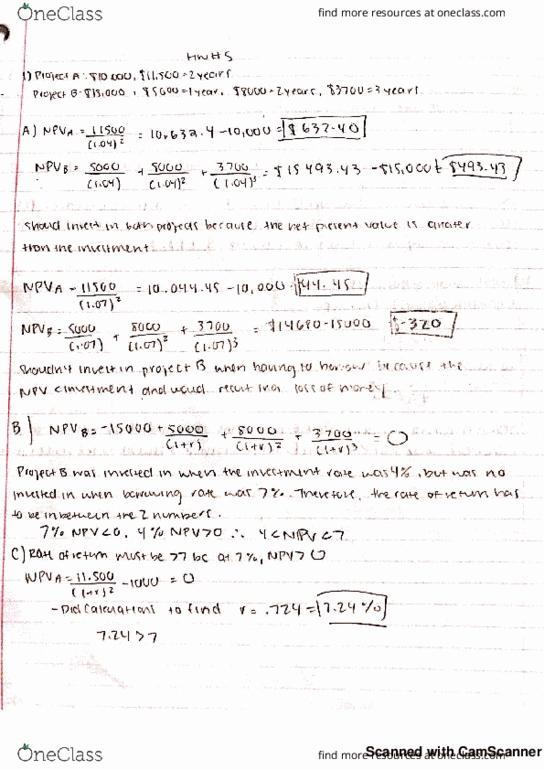 hickenbottom ut homework