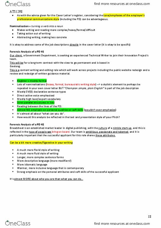 All Educational Materials for Matthew Piscioneri - OneClass