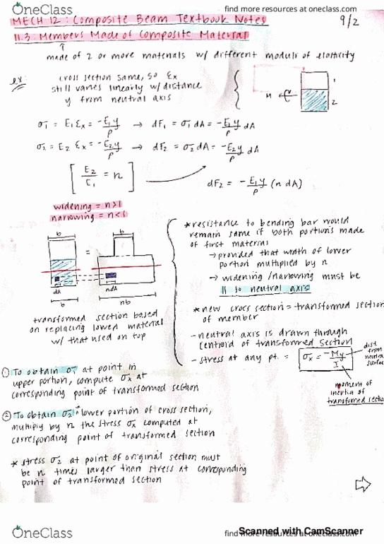 MECH 12 Lecture 29: MECH 12 lecture 29-30