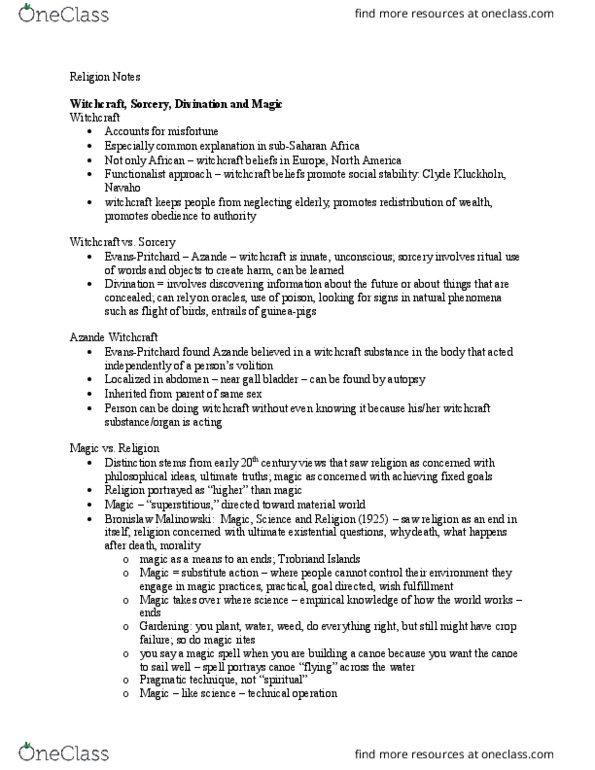 ANTHROP 2R03 Lecture 3: Lecture 3 - Thai Amulets (Jan 9)