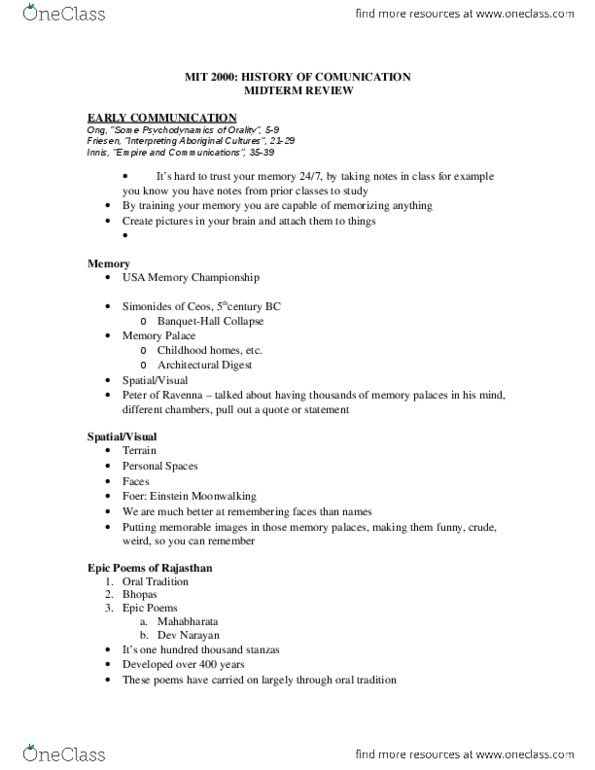 Media, Information and Technoculture 2000F/G Lecture Notes - Lecture 7:  Radiotelephone, Dxing, Iwg Plc