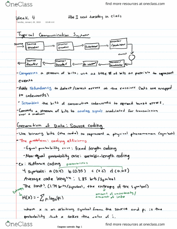 COMP 3220 Lecture 6: PL Week 6-BNF and EBNF