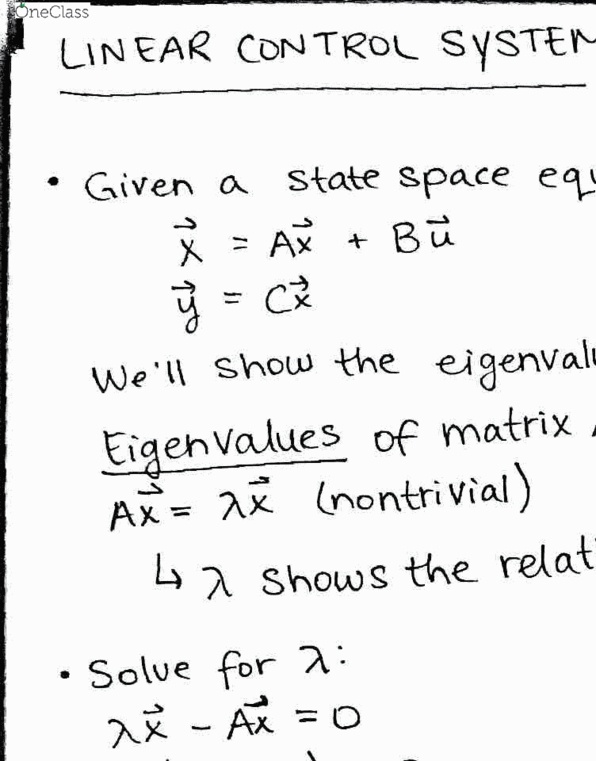 EEL 3657 Study Guide - Spring 2019, Comprehensive Midterm Notes - Transfer  Function, Lincoln Near-Earth Asteroid Research, Laplace Transform