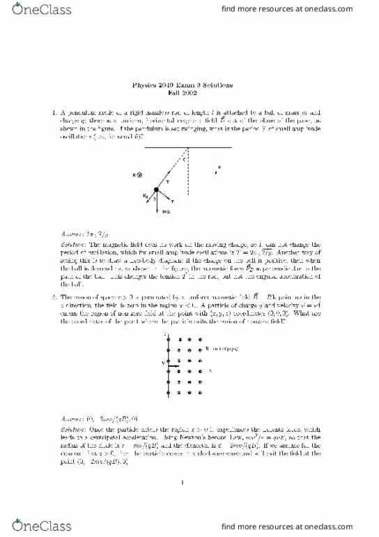 Exam 3