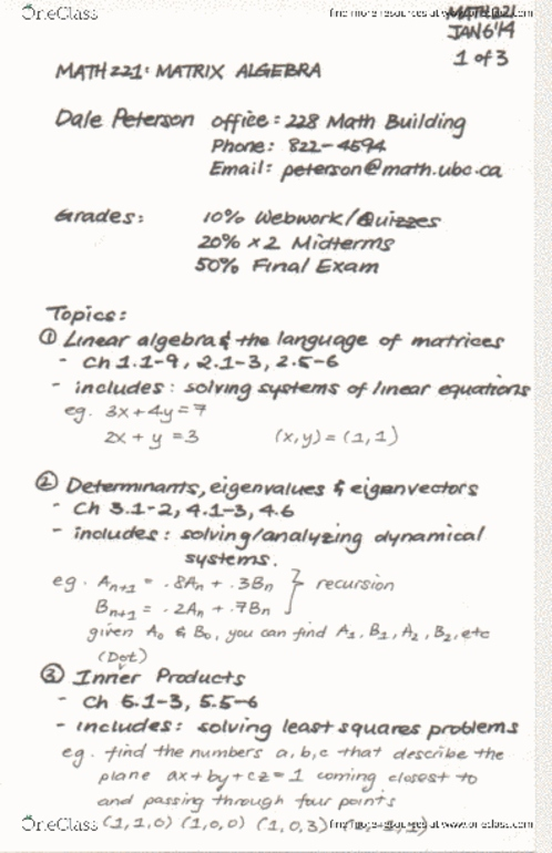 math221-1 1 systems of linear equations pdf