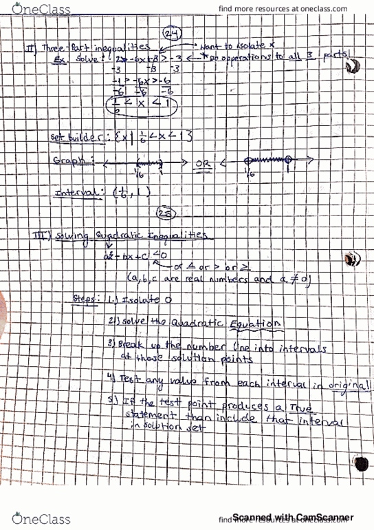 MATH-1431 Lecture 1: Lecture Notes Chapter One Pg 12