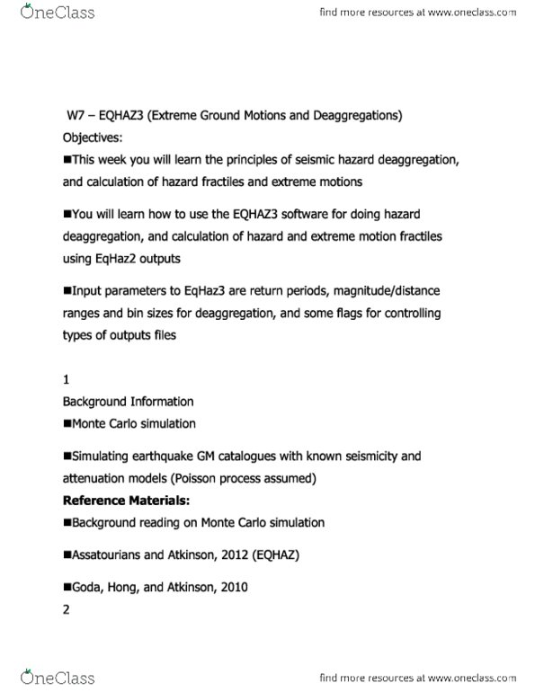 GM Catalogue Simulation Notes (need to read to do well)