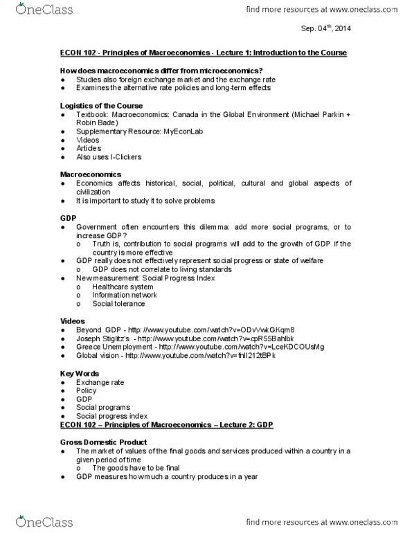 All Educational Materials for Robert Gateman - OneClass