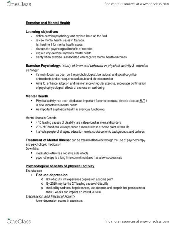PS286 Lecture Notes - Stim, 2010 Winter Olympics, Progressive Muscle  Relaxation