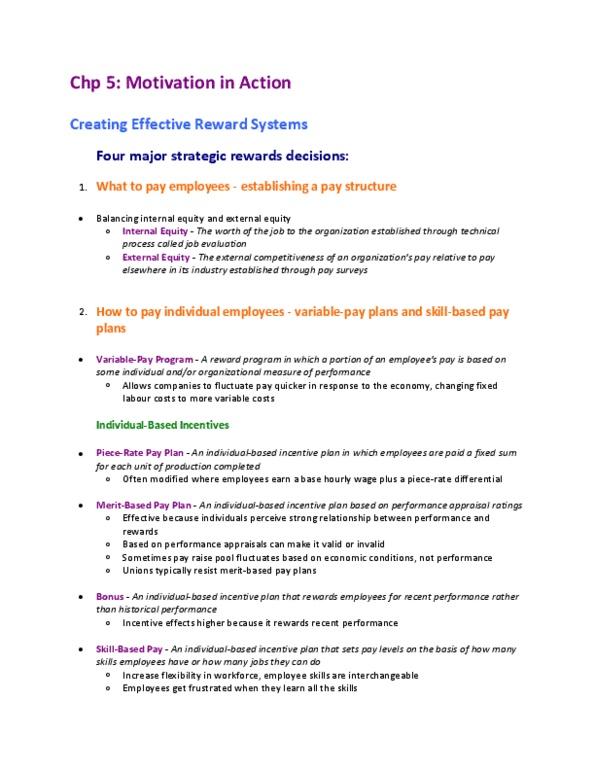 COMM 292 Lecture Notes - Telecommuting, Flextime, Flexible Spending Account