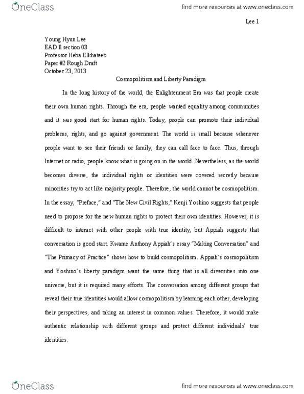kenji yoshino essay