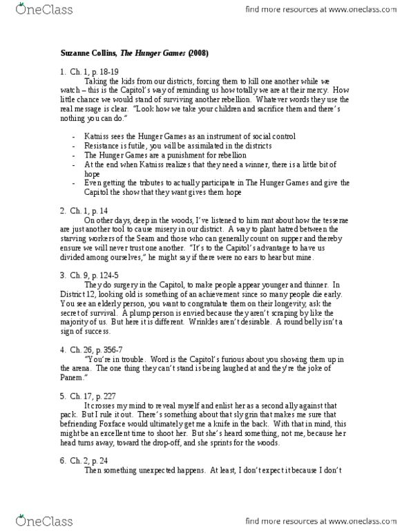 English 2033E Lecture Notes - Fall 2013, Lecture 1 - Hoboken