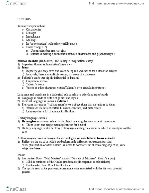 ceremonies of possession essay