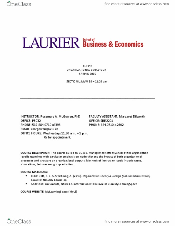 Bu398 Lecture Notes Spring 2015 Lecture 1 Canada Day Foreach Loop Turnitin