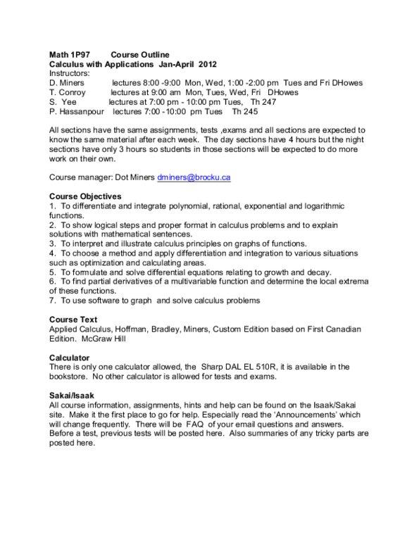 Course Outline pdf