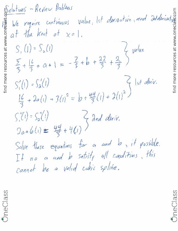 CS370 Study Guide - Midterm Guide: Cubic Hermite Spline