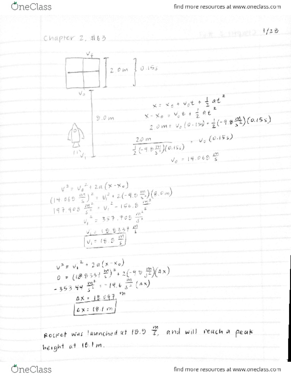 giancoli physics homework solutions