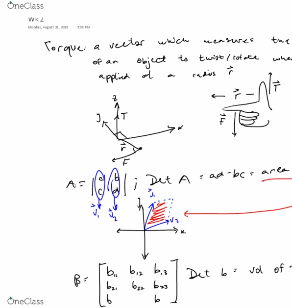 Class Notes for Mathematical Sciences at Virginia
