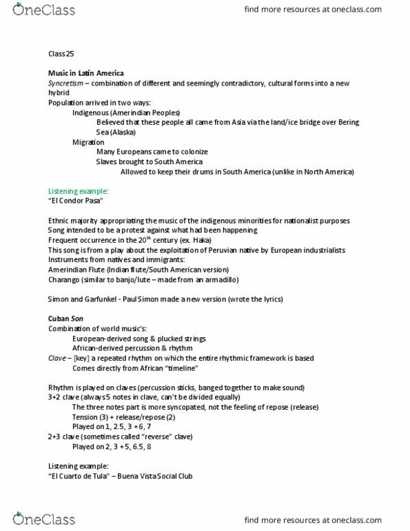 MUEL 1832 Lecture Notes - Lecture 13: Absolute Music, Gesamtkunstwerk,  Program Music