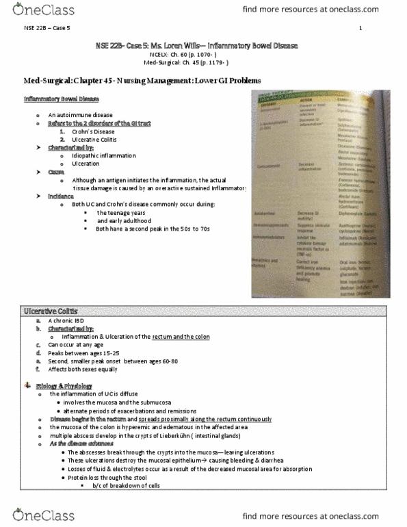 hesi case study ibd