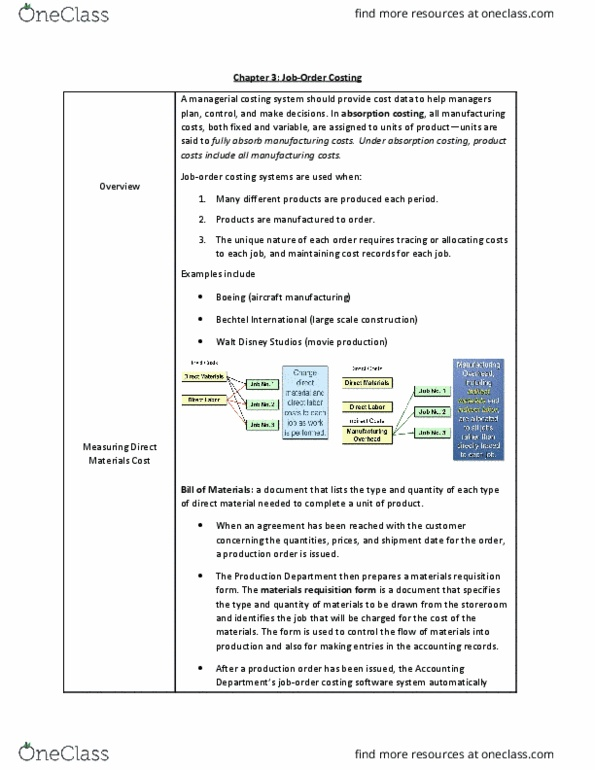 Class Notes for Accounting at Drexel University - OneClass