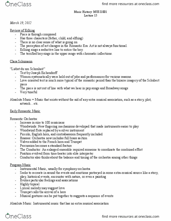 Class Notes for Alexis Luko - Page 2 - OneClass