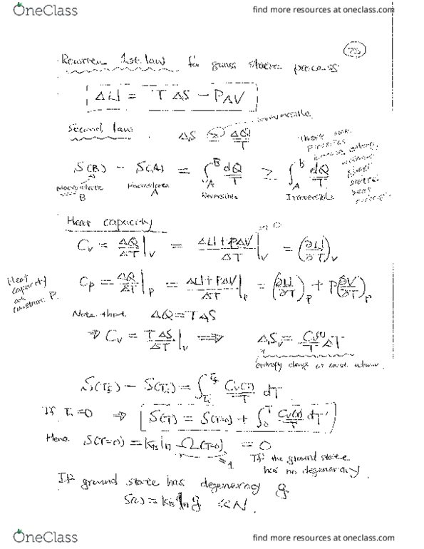 Class Notes for PHYSICS 181 at Harvard University - OneClass