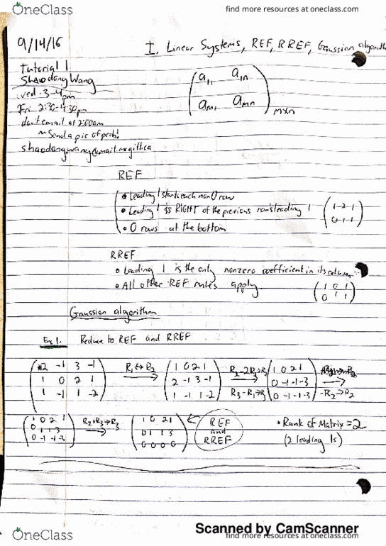 MATH 133 Lecture 4: Section 2 -- Lecture 4 & Tutorial 1